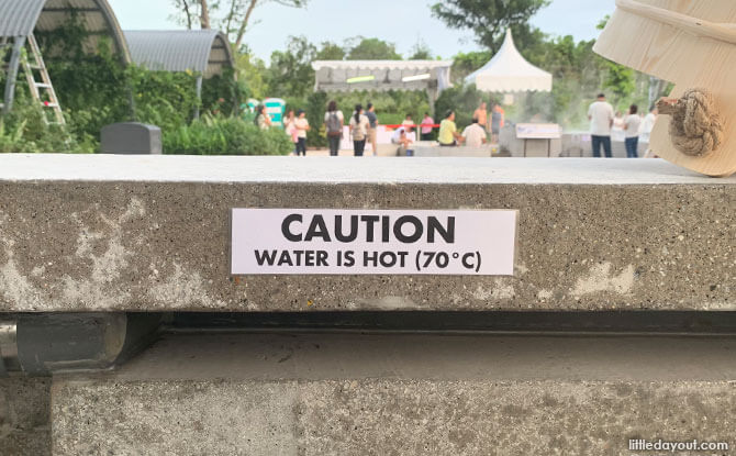 Caution - Water is Hot!