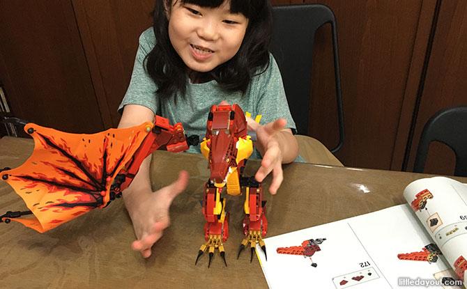 LEGO dragon review