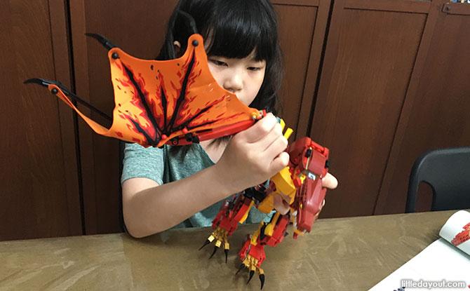 LEGO Ninjago Fire Dragon Attack (71753) Build