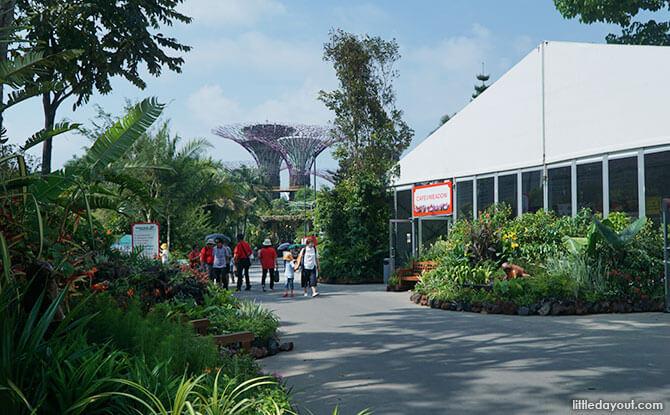 Singapore Garden Festival at Gardens by the Bay