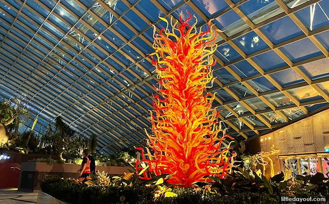 Must-See Exhibits At Dale Chihuly: Glass In Bloom At Gardens By The Bay