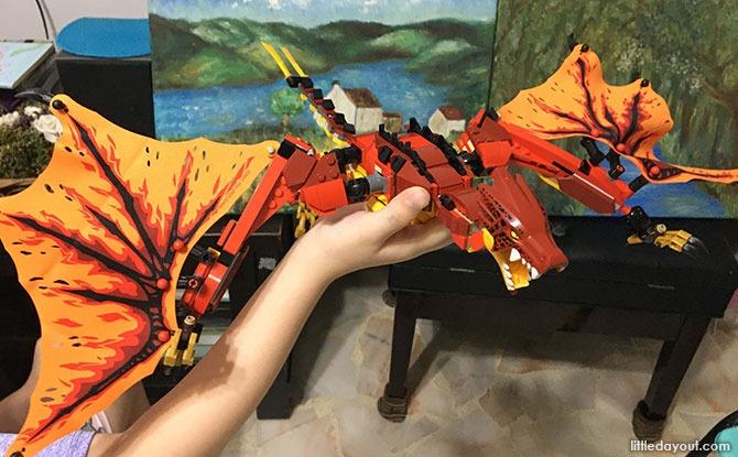 Ninjago dragon