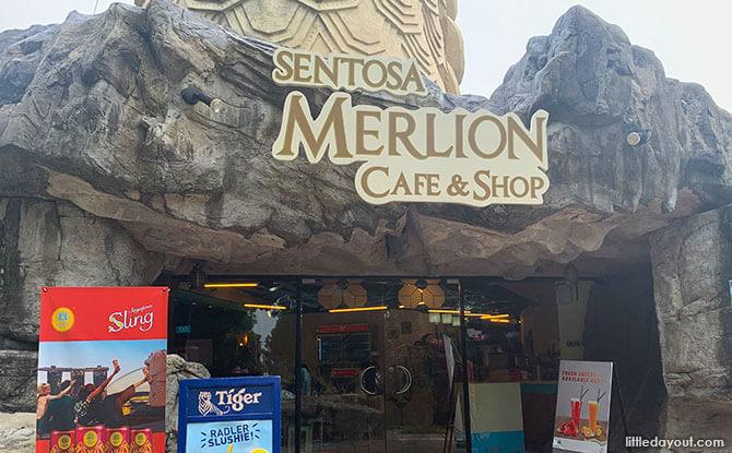 Sentosa Merlion Cafe & Shop