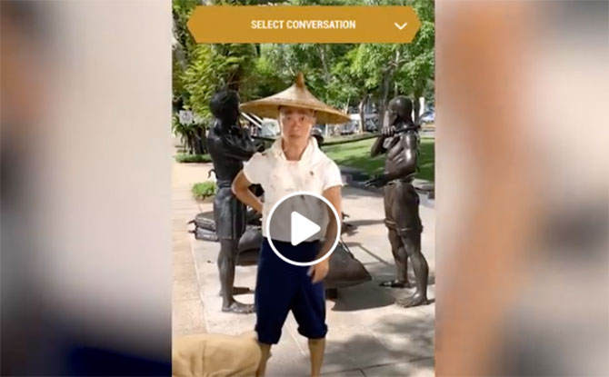Experience Singapore's History Through The BalikSG Augmented Reality App