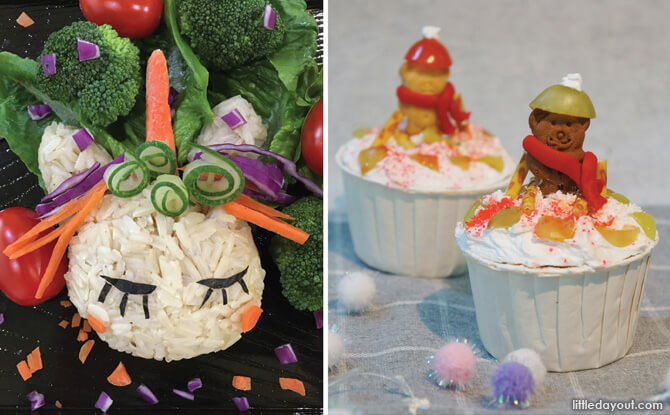 Bento and Cupcakes - Mount Alvernia Cooking Challenge