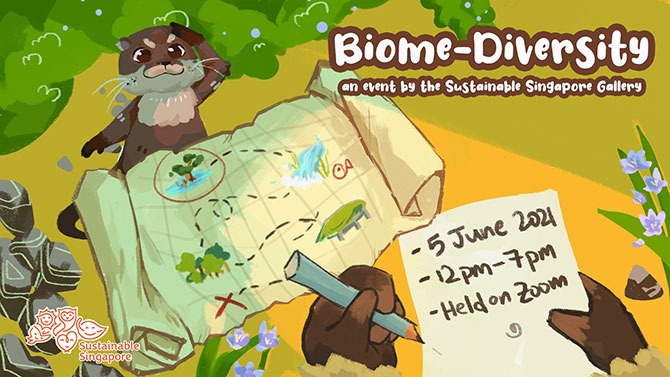 Biome-Diversity by the Sustainable Singapore Gallery