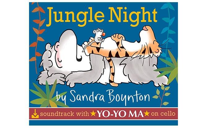 Jungle Night Board Book by Sandra Boynton