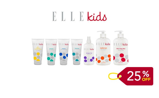 ELLE Baby And Kids: 25% Off Promo Code