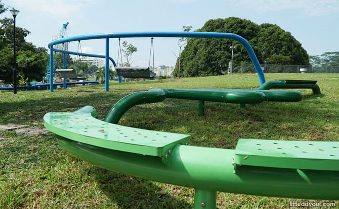 Marsiling Park Ribbon Playscape