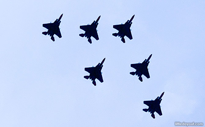 Roar Of Unity: NDP 2020 Fly Past By F-15SGs In Tribute Of Frontline Workers