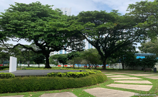 Stage area at Katong Park