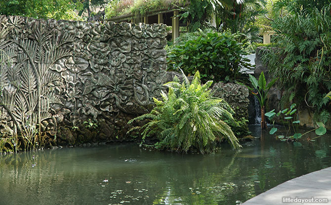 Fish Ponds at Green Pavilion
