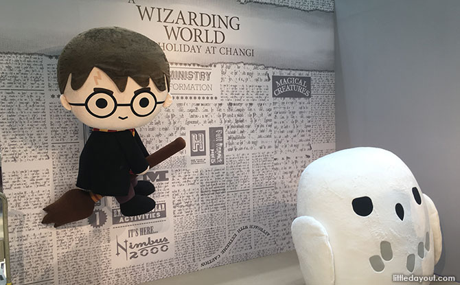 1-metre tall Harry Potter and Hedwig Plushies