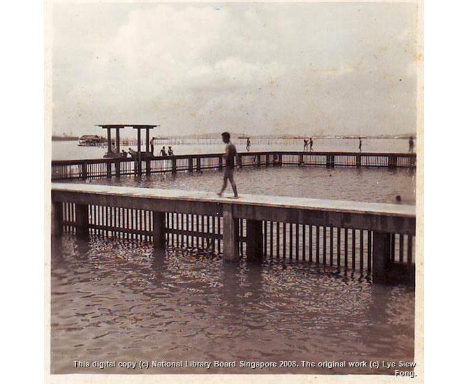 Katong swimming pool, 1950s