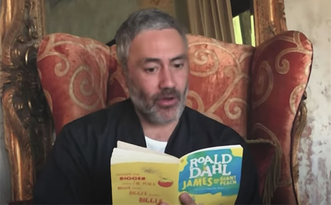 Taika Waititi And Celebrities Read Roald Dahl's James And The Giant Peach For Charity