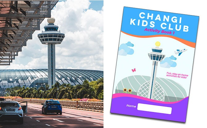 Changi Kids Club Activity Book: Airport-Themed Activities To Do At Home