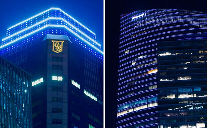 GoBlue4SG: More Than 40 Iconic Spots Take Part In #CityTurnBlue For World Water Day 2021