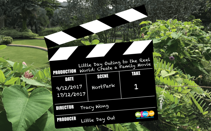 Little Day Outing to the Reel World: Create a Family Movie