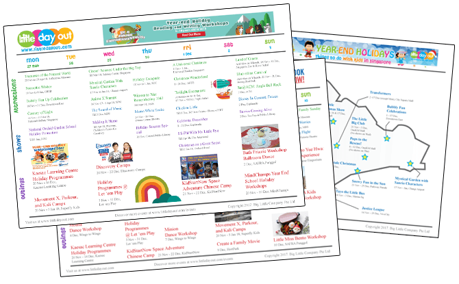 Downloadable Little Day Out Guide To The Year-End School Holidays 2017