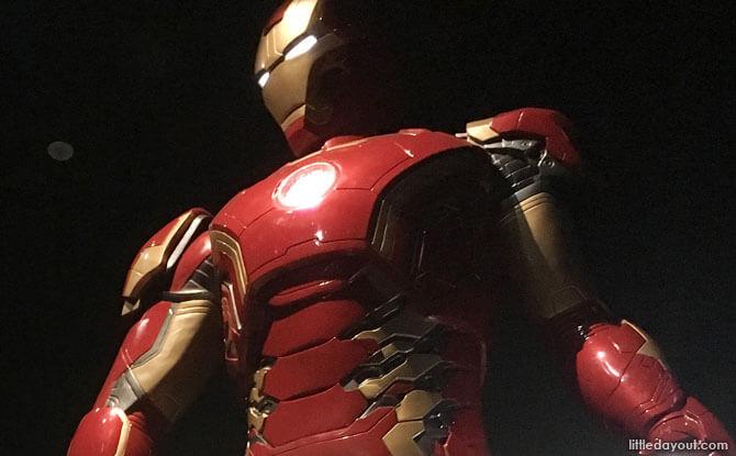 Marvel Exhibition in Singapore - Marvel Studios: Ten Years of Heroes at the ArtScience Museum