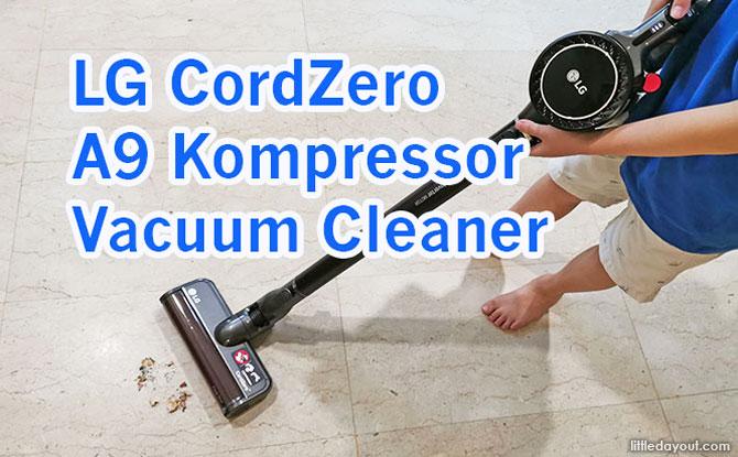 Parent Review: LG CordZero A9 Kompressor Vacuum Cleaner