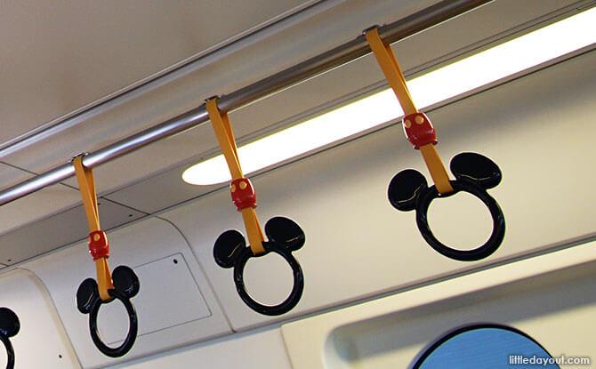 Inside the Tokyo Disneyland Resort Line Monorail