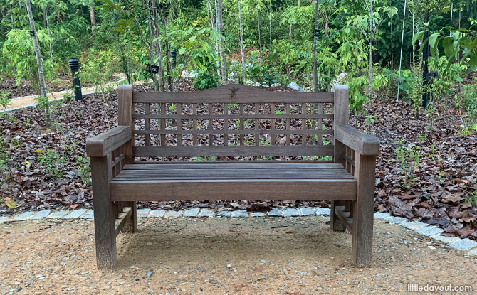 Benches at Gallop Valley