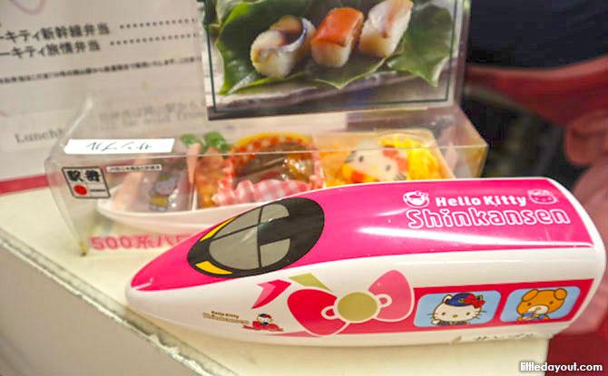 Hello Kitty Shinkansen Café