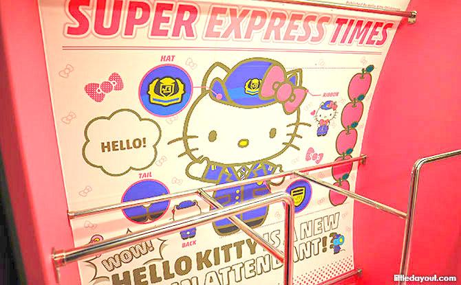 Hello Kitty Luggage areas