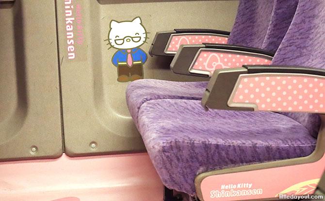 Hello Kitty Train Cars, JR Train