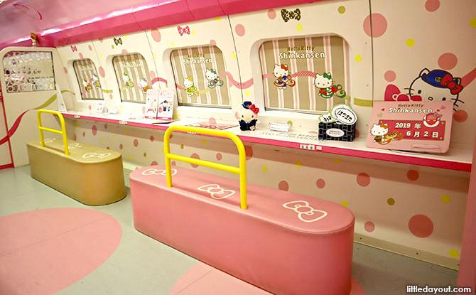 Ride the Hello Kitty Shinkansen with the JR Pass
