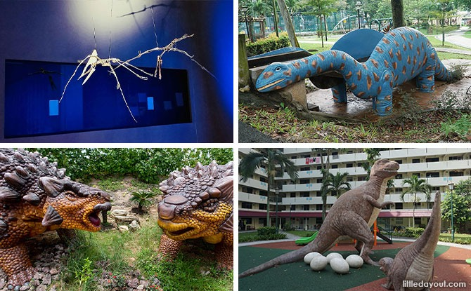 Rediscover SG: Dinosaurs In Singapore