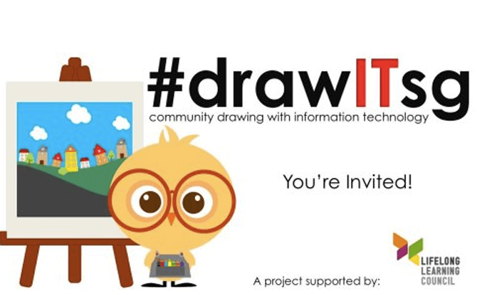 #drawITsg – Community Drawing with Information Technology