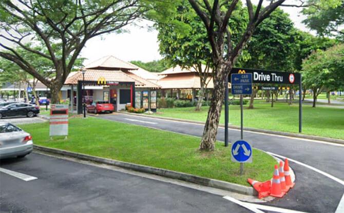 McDonald's Drive Thrus Locations In Singapore