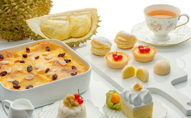 Marriot Café's Durian High Tea Buffet