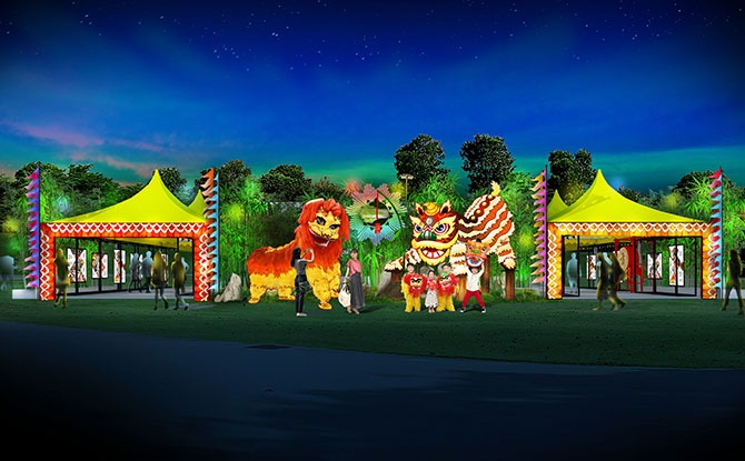 River Hongbao 2021 Exhibition: Lion Dance