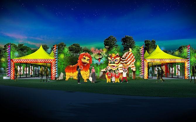 River Hongbao 2021 Exhibition: Lion Dance