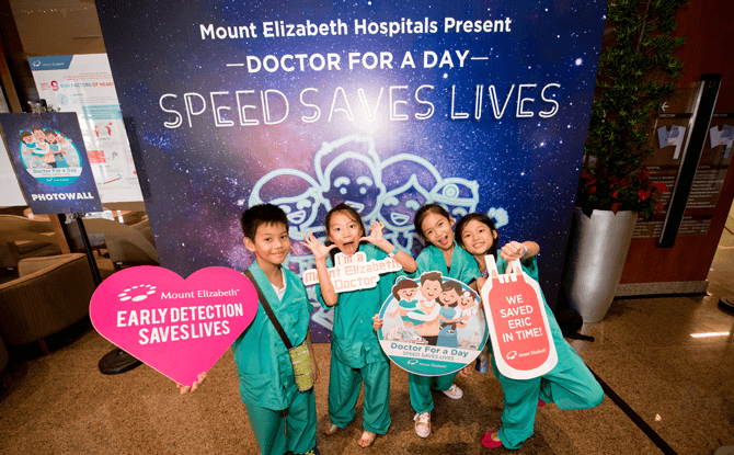 Mount Elizabeth Hospitals' Doctor for a Day - Speed Saves Lives Programme