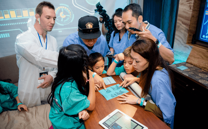 Mount Elizabeth Hospitals' Doctor for a Day - Speed Saves Lives Programme: Parent-Child Immersive Experience