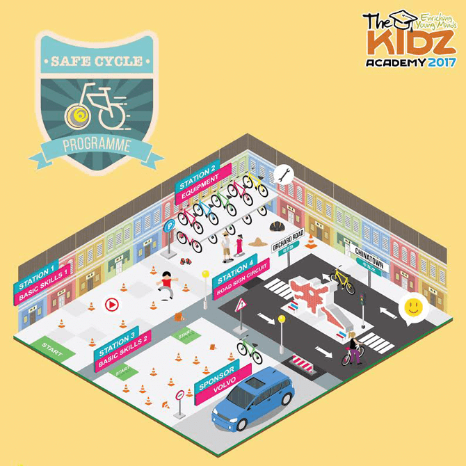 Safe Cycle Programme at The Kidz Academy 2017