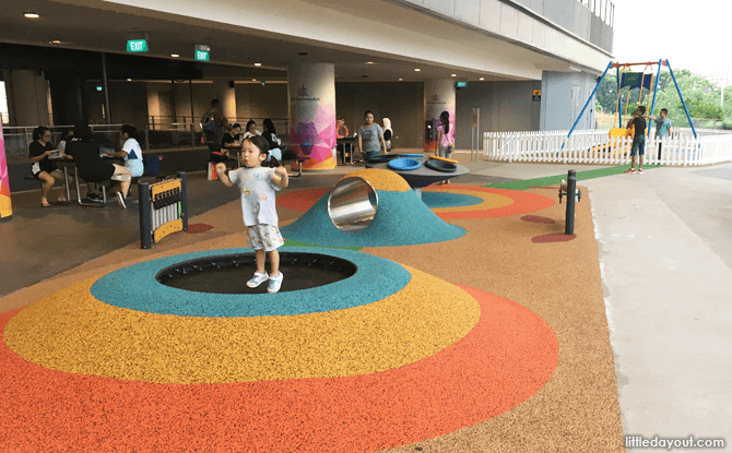 Our Tampines Hub Level 2 Playground
