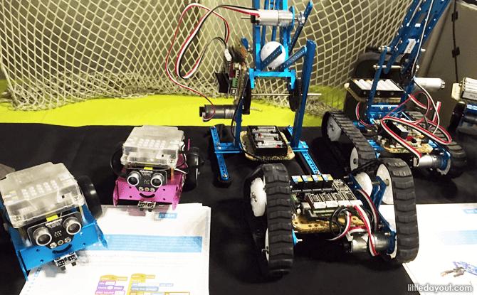 Bot at the KidZania Kidz & Tech Festival