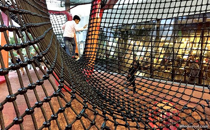 Netted Bridge at Jem Play Playground
