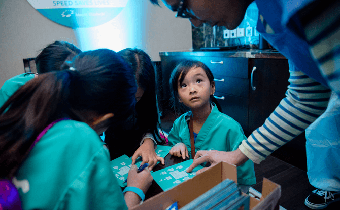 Mount Elizabeth Hospitals' Doctor for a Day - Speed Saves Lives Programme: Parent-Child Immersive Experience: Escape Room