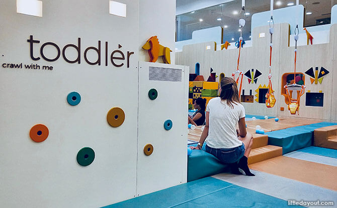 Toddler area at Buds at Shangrila
