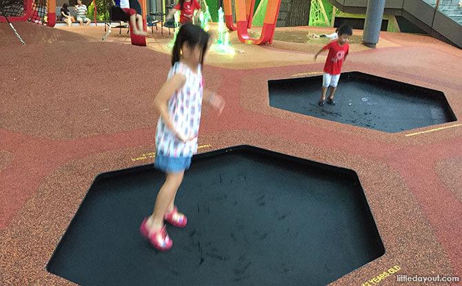 Trampolines at Jem Play Playground