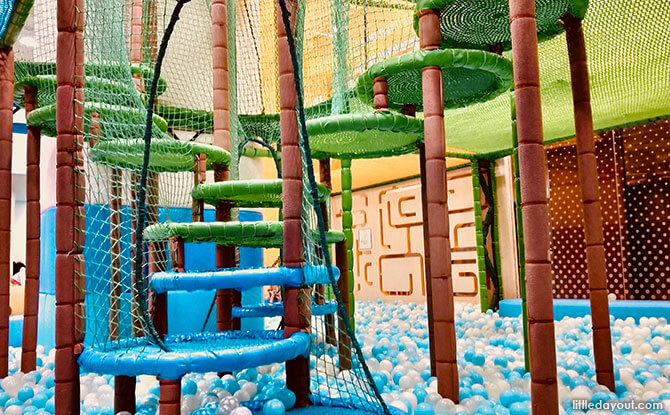 Explorer Zone at Buds - indoor playgrounds in Singapore
