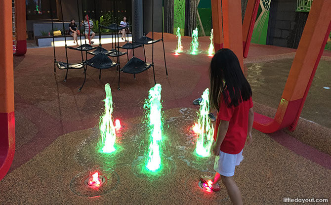 Fountain Jets at Jem Play Playground