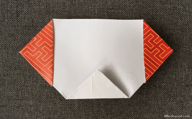 Dog origami for Chinese New Year 2018