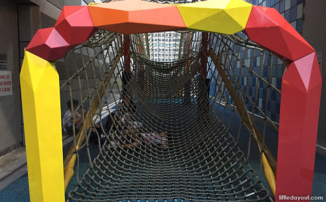 Netted Tunnel at Jem Play Playground